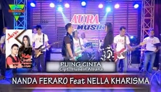 Lirik Lagu Nanda Feraro Feat Nella Kharisma - Puing Cinta