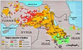 H Άγκυρα και οι περιφερειακοί της αντίπαλοι ενωμένοι κατά της δημιουργίας κουρδικού κράτους