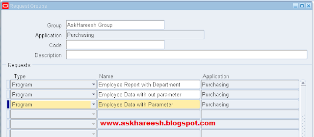 PL/SQL Stored Procedure registration with Parameters | AskHareesh