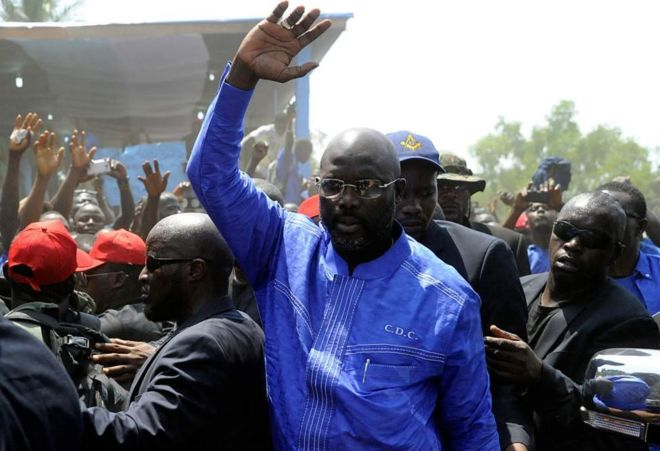 Uchaguzi Liberia: George Weah akiri kuwasiliana na Charles Taylor