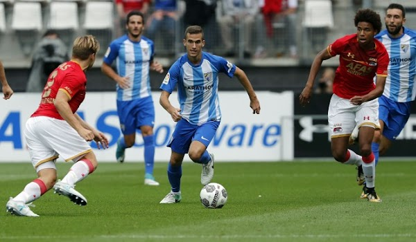 Atlético Malagueño, Maty es citado por Hungría Sub-21