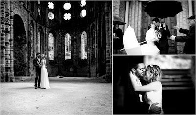 foto sposi bianco e nero