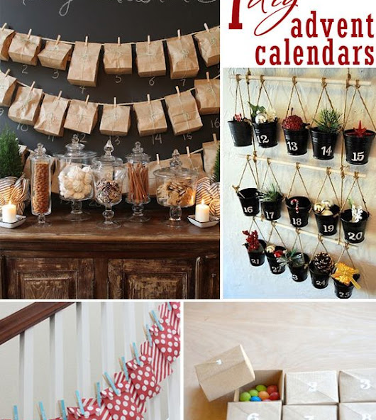 DIY Adevent Calendars