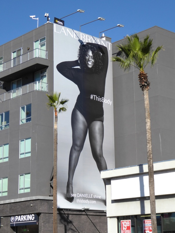 Danielle Brooks Lane Bryant This Body billboard