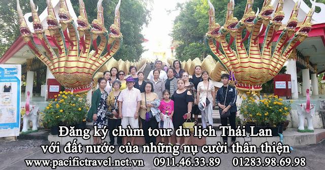 Đăng ký chùm tour du lịch Thái Lan với đất nước của những nụ cười thân thiện