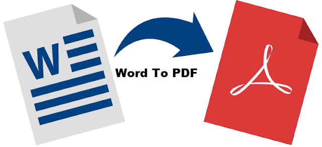 Banyak sekali cara untuk merubah formad word docx menjadi pdf baik dengan menggunakan apl 3 Cara paling mudah Merubah Word ke PDF