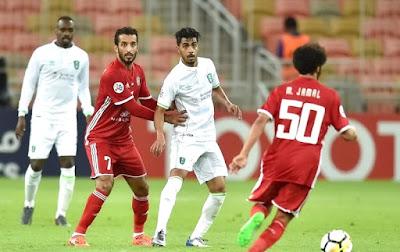 موعد مشاهدة مباراة الجزيرة والأهلي السعودي الثلاثاء 17-4-2018 ضمن دوري أبطال آسيا والقنوات الناقلة