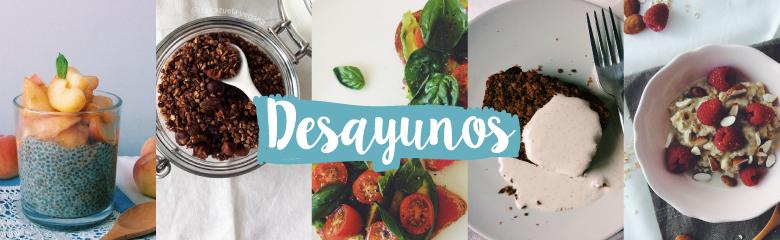 Desayunos veganos de La Cazuela Vegana