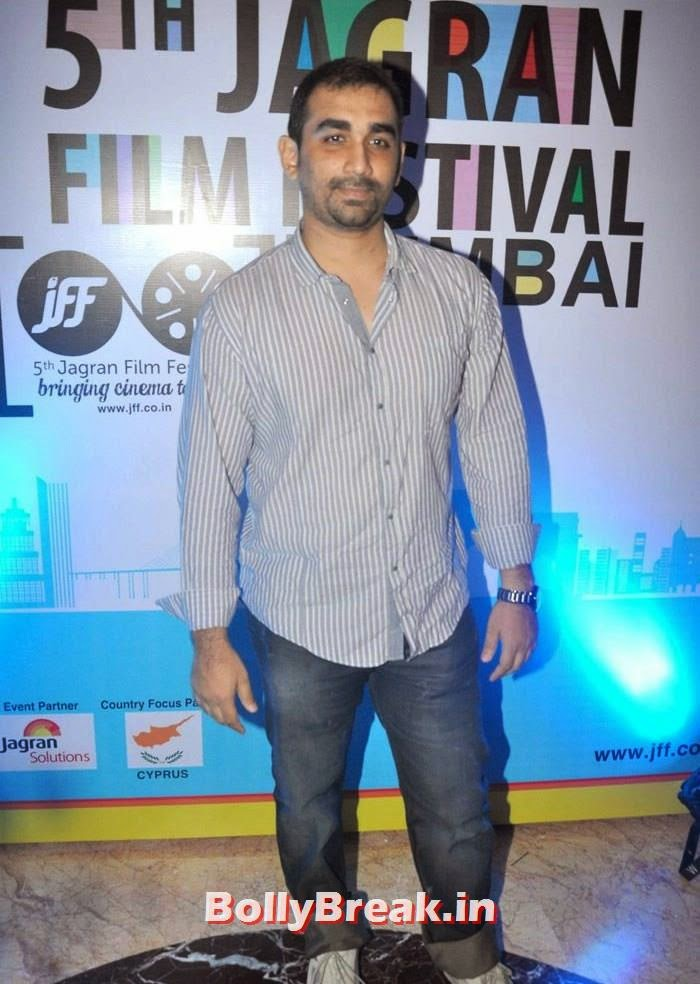 Kunal Deshmukh, 5th Jagran Film Festival Red Carpet Pics