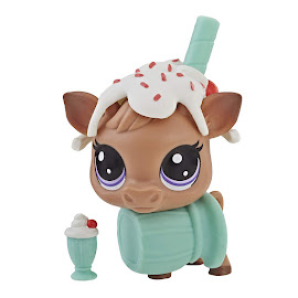 LPS Series 4 Thirsty Pets Cow (#4-160) Pet