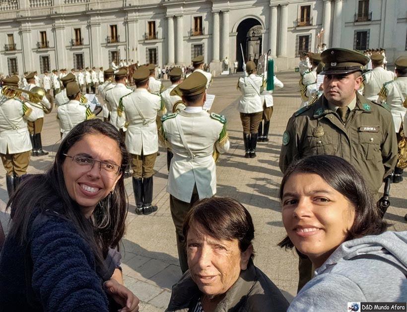 Troca da Guarda em Santiago - Diário de Bordo Chile: 8 dias em Santiago e arredores