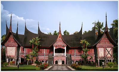 Desain Rumah Adat Sumatera