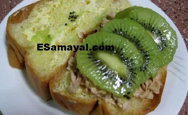கிவி சாண்ட்விச் செய்வது | How Make Kiwi Sandwich?