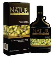 Shampo natur olive oil untuk rambut kering