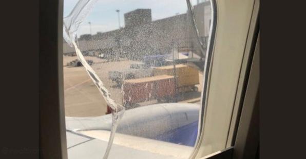 Incredibile: un altro finestrino rotto nel volo Southwest Airlines