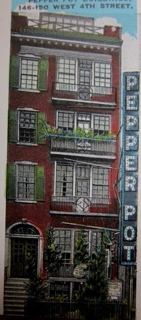 Daytonian In Manhattan The Pepper Pot Inn No 146 West