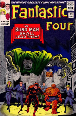 Fantastic Four #39, Dr Doom and Daredevil