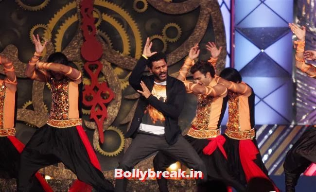 Prabhu Deva at Umang Police Show 2014, Bollywood Celebs at Umang Police Show 2014