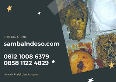 harga nasi box Bintaro kota Tangerang Selatan