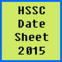 HSSC date sheet 2017 of all Pakistan bise boards, Part 1 and Part 2
