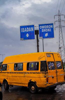 Buses in lagos, Nigeria