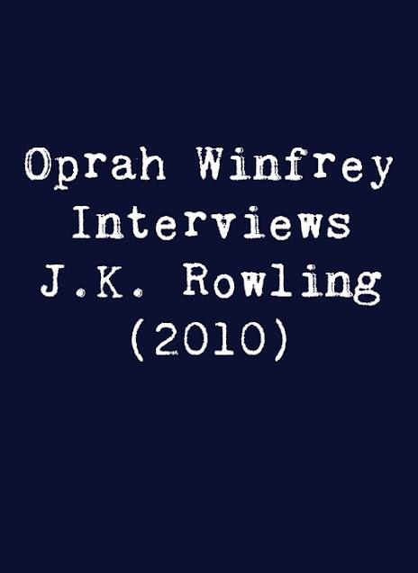 Oprah Winfrey Interviews J.K. Rowling