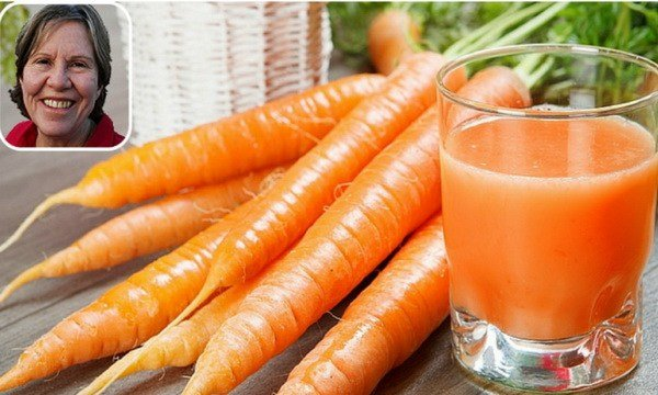 She Drank Carrot Juice Every Day For 8 Months