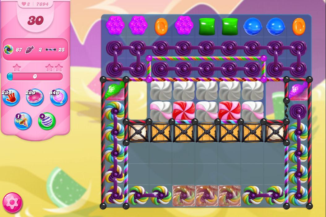 Candy Crush Saga level 7694