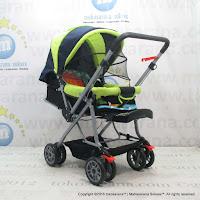 Kereta Bayi Creative Baby BS218 Classic Green