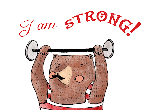 Illustration Friday Challenge - STRONG
