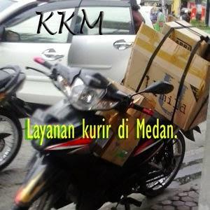 Layanan kurir di Medan.