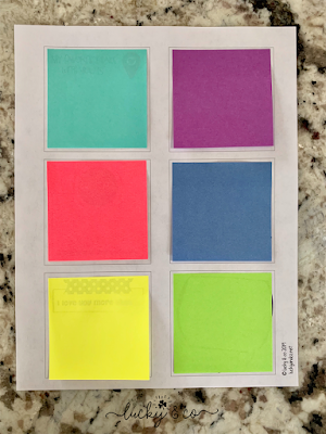 Free Print & Go Post It Love Notes for your Spouse | Lucky & Co