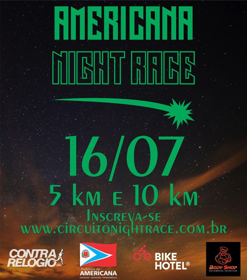 Circuito Night Run : Mania de corrida inscrições para o circuito night race etapa