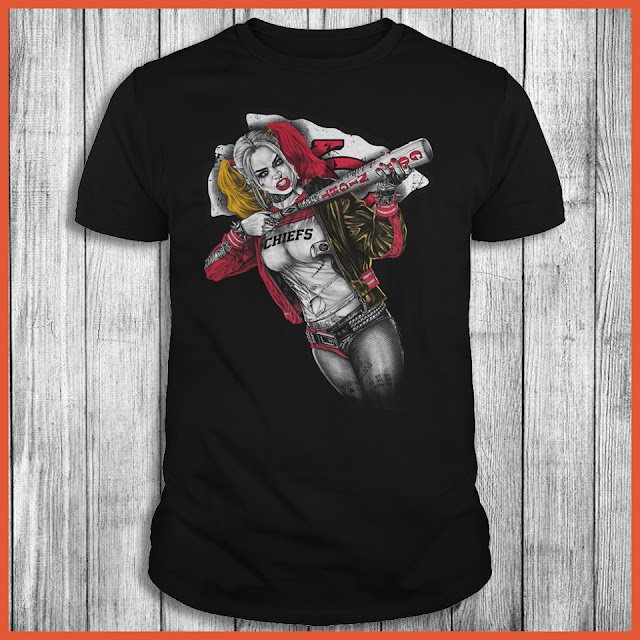 Kansas City Chiefs Harley Quinn T-Shirt