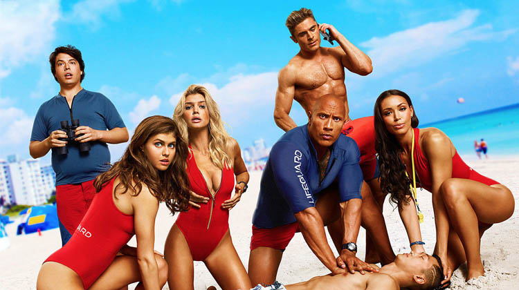 Tráiler red band de Baywatch: Los Vigilantes de la Playa