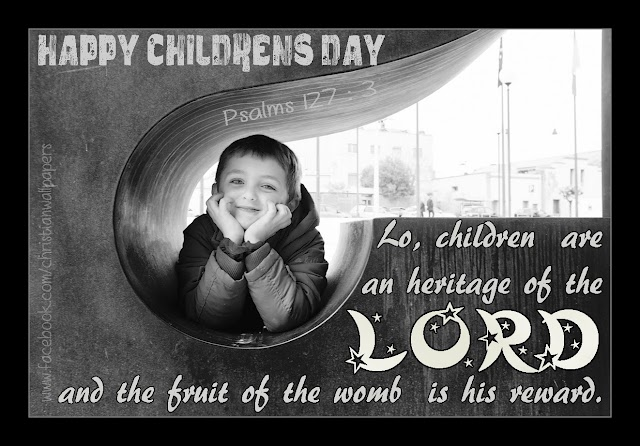 Childrens Day Bible Verse