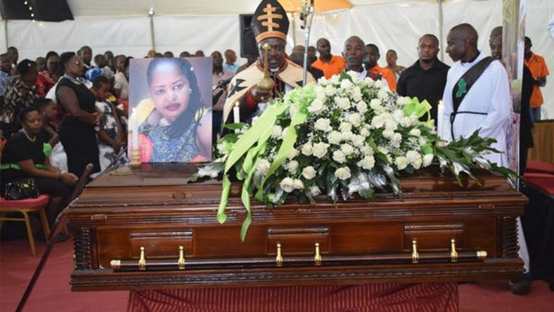 kori1 - JOSEPH KORI attends funeral mass for late wife MARY WAMBUI who was brutally murdered by his evil mistress (PHOTOs)