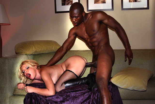 Black Girl White Man Creampie