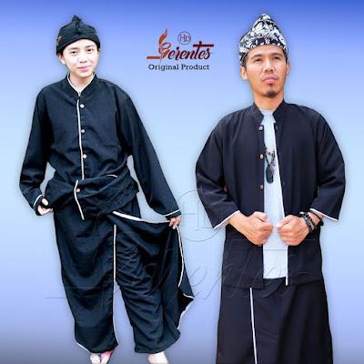 Baju Pangsi Hitam