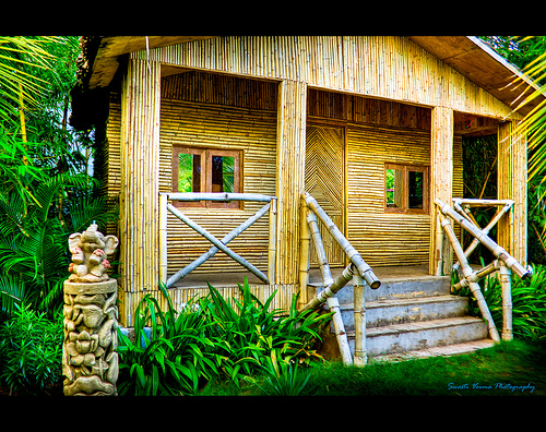 3715409033 e85ef67718 - Get Small Bamboo House Design Philippines PNG