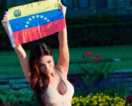 ¡CONMOVEDOR! Caterina Valentino rompe en llanto al hablar de la represión en Venezuela (+Video)