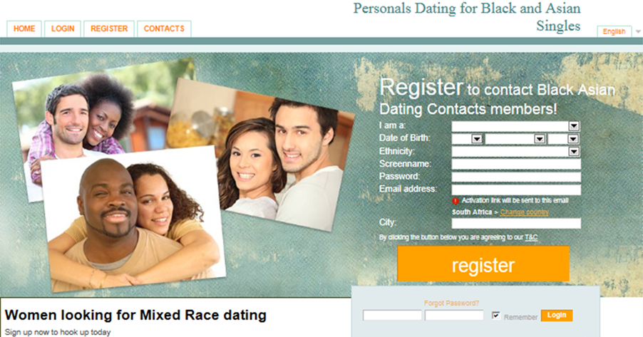 Afrikaans online dating