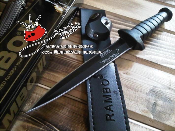 Pisau Rambo 6 - gilanglaki sarang sajam