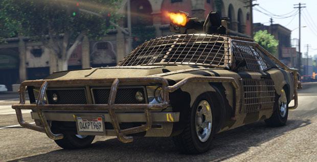 GTA Online Gunrunning Update Vehicles