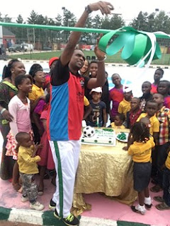 Photos From Kanu Nwankwo's birthday celebration