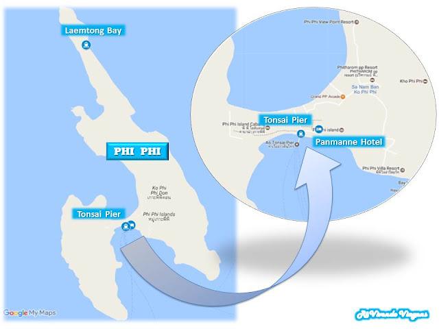 como ir pra phi phi