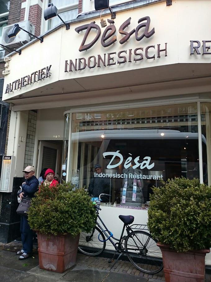 Menikmati Sate Ayam di Desa - Authentiek Indonesisch Restaurant Amsterdam