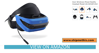 Acer AH101-D8EY Windows Mixed Reality Headset Review