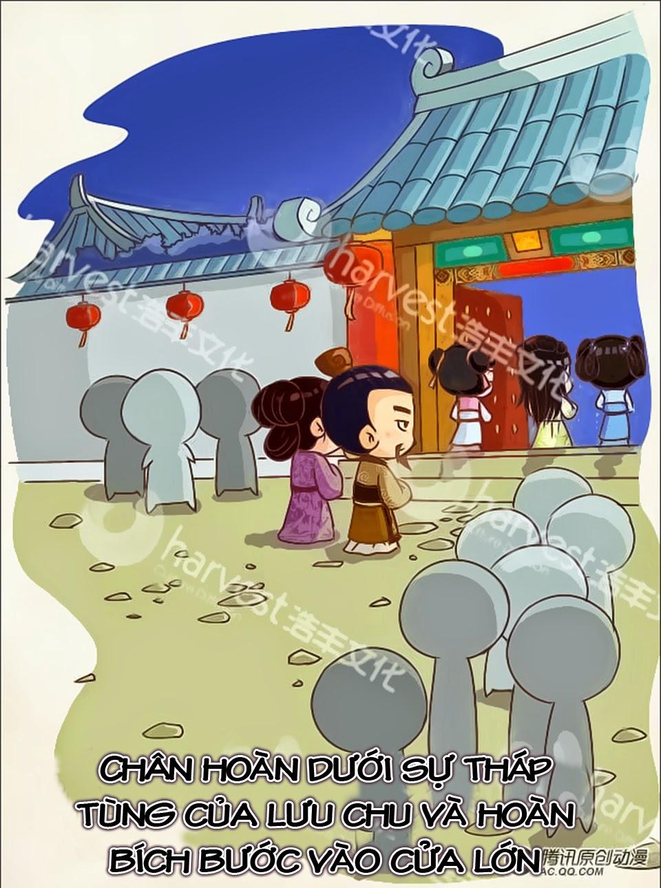 Chân Hoàn Truyện Chap 3.1 - Next Chap 4