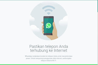 WhatsApp lewat komputer